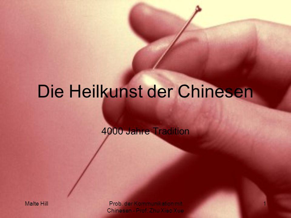 Die Heilkunst der Chinesen