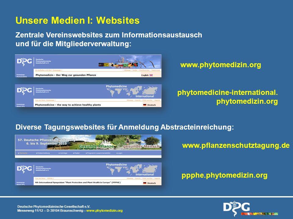 Unsere Medien I: Websites