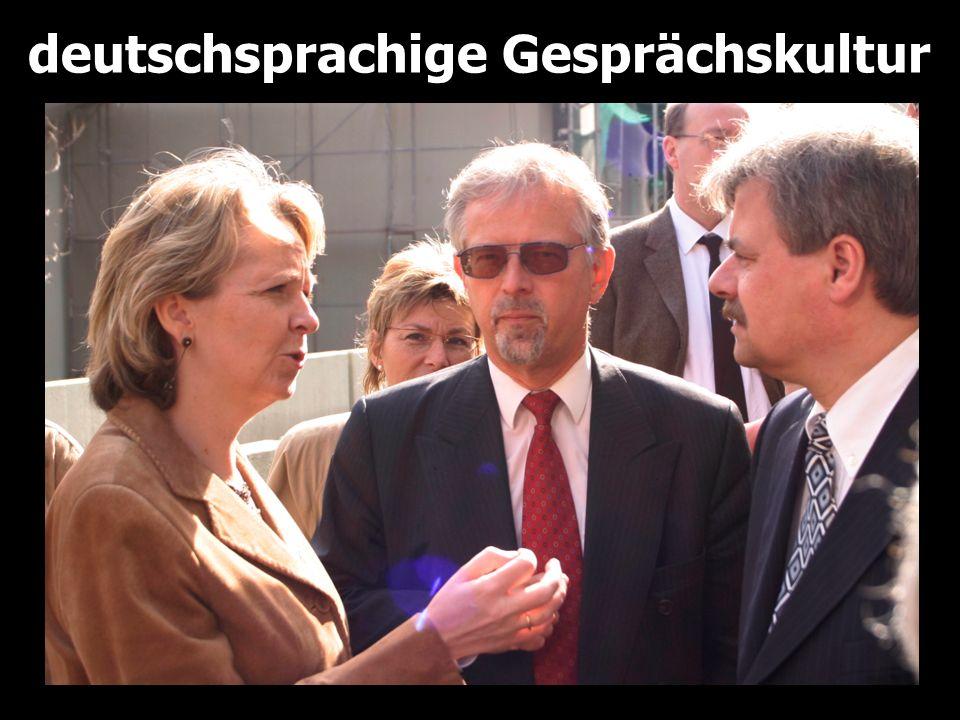 deutschsprachige Gesprächskultur