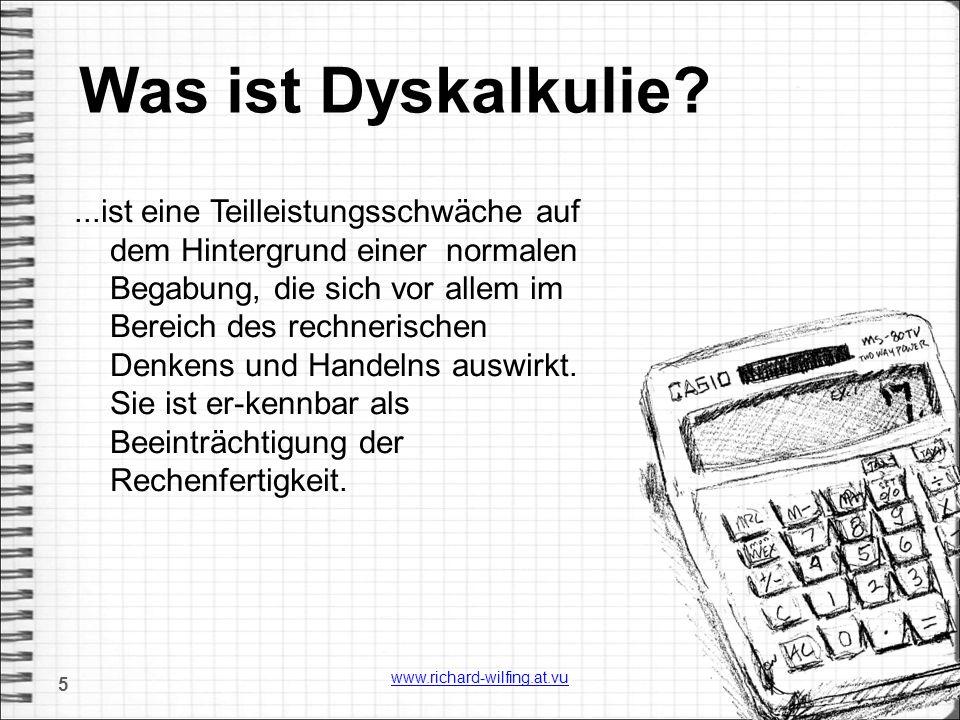 Was ist Dyskalkulie