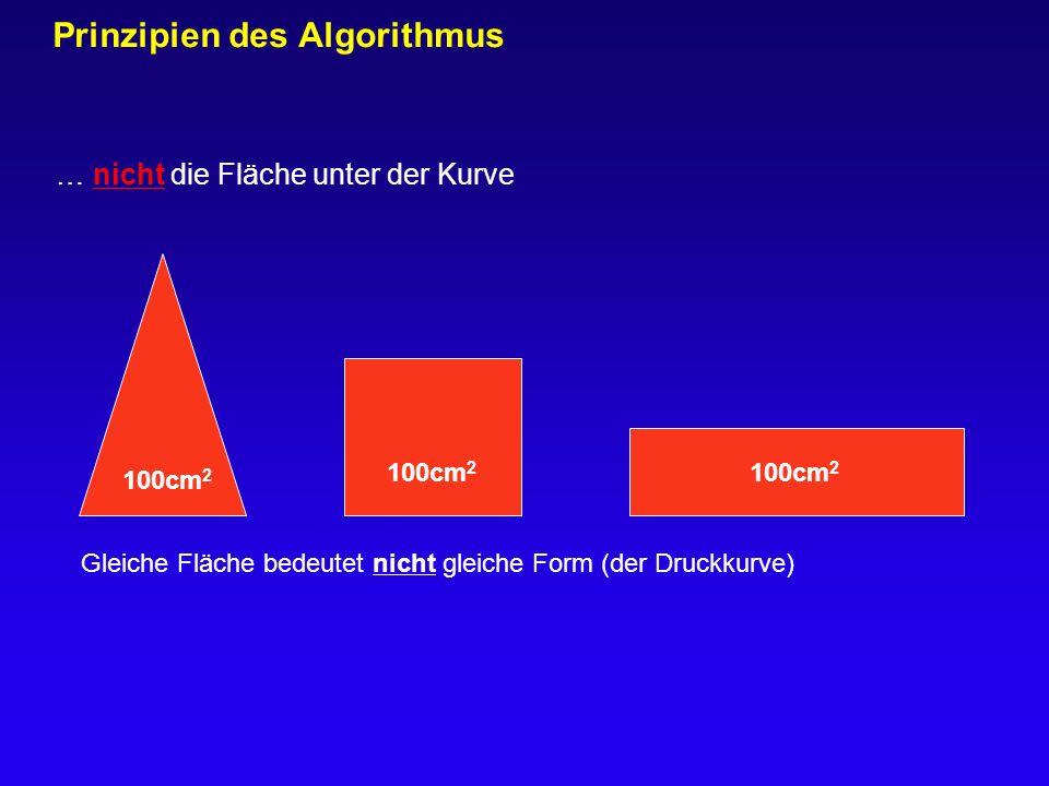 Prinzipien des Algorithmus