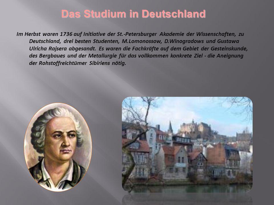 Das Studium in Deutschland