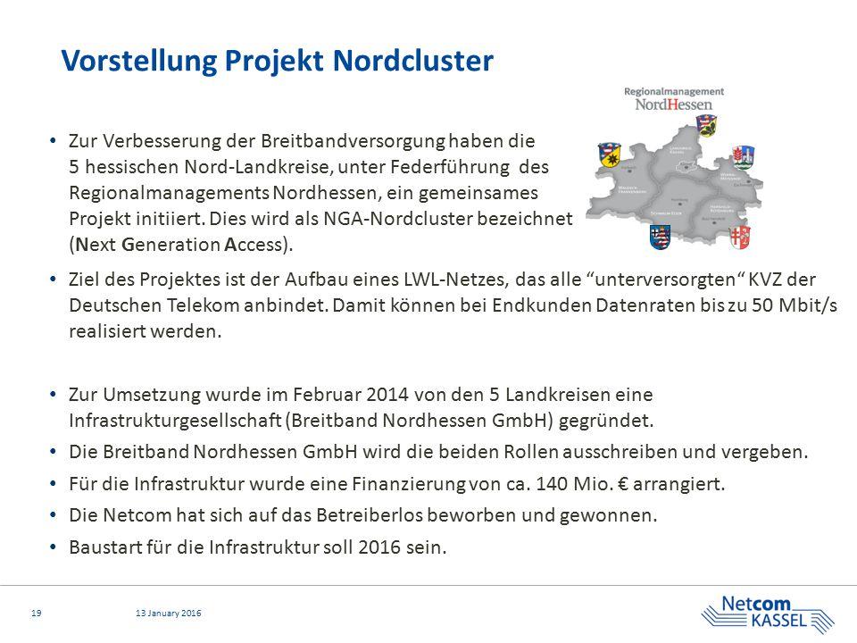 Vorstellung Projekt Nordcluster