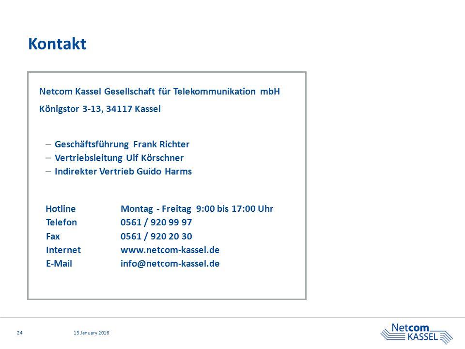 Kontakt Netcom Kassel Gesellschaft für Telekommunikation mbH