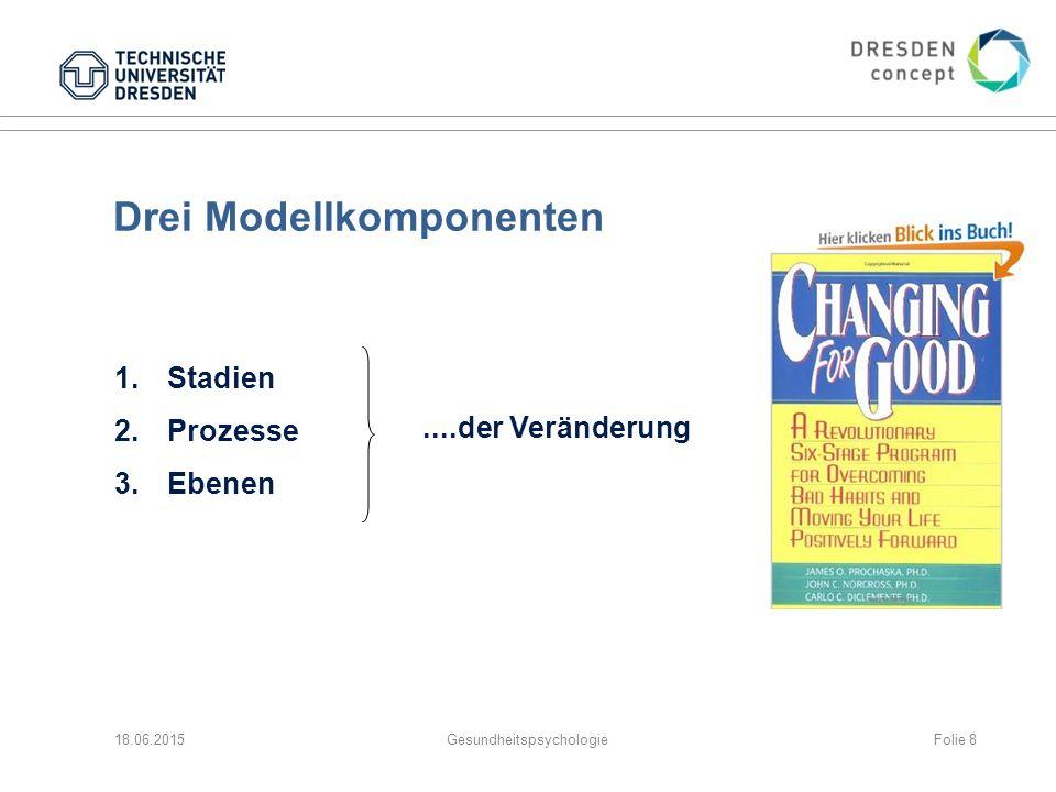 Drei Modellkomponenten