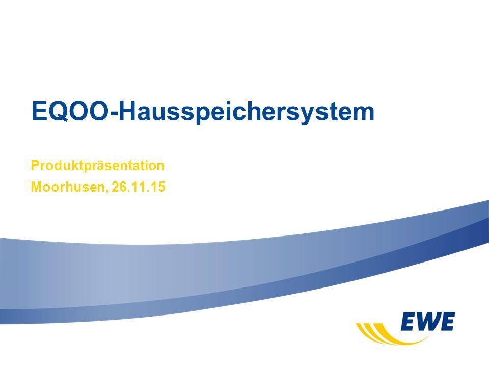 EQOO-Hausspeichersystem