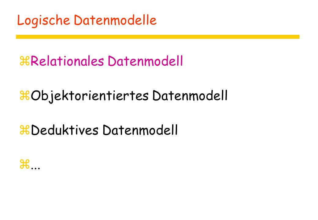 Logische Datenmodelle
