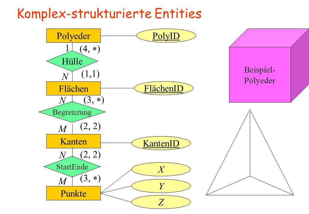 Komplex-strukturierte Entities