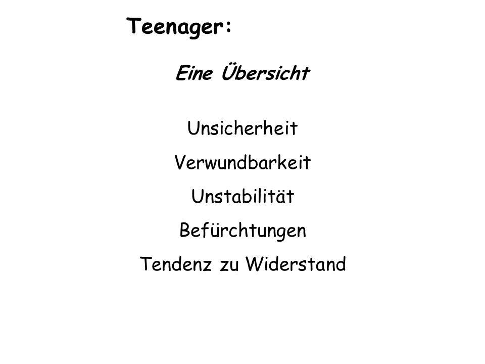 Teenager: Eine Übersicht