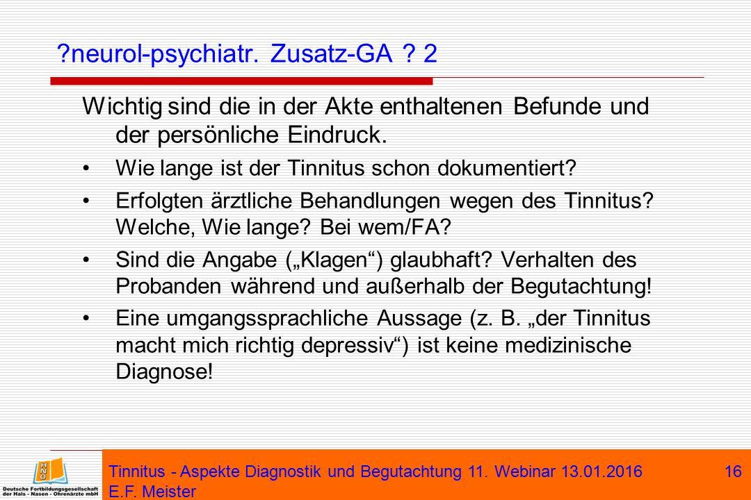 neurol-psychiatr. Zusatz-GA 2