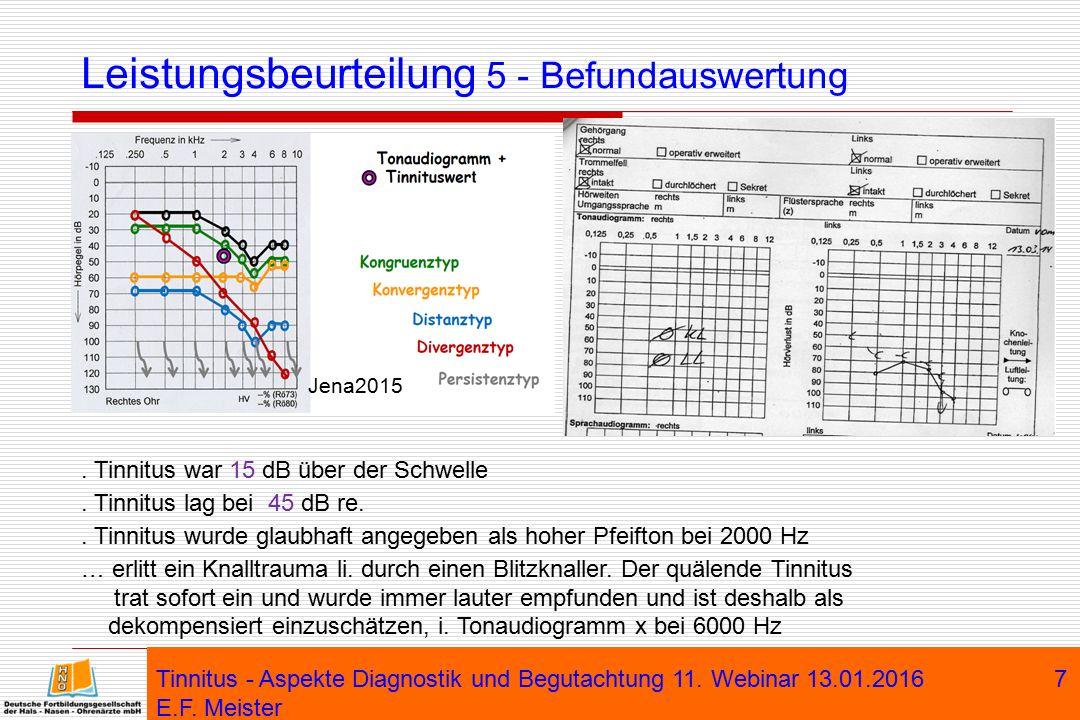 Leistungsbeurteilung 5 - Befundauswertung