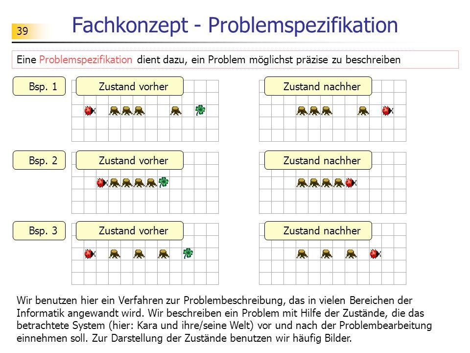 Fachkonzept - Problemspezifikation