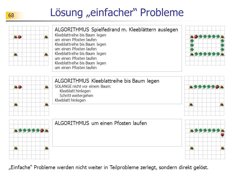 """Lösung """"einfacher Probleme"""