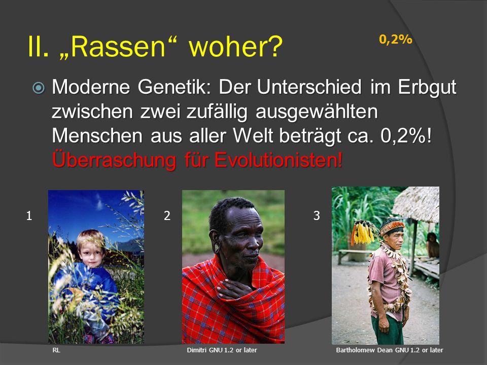 "II. ""Rassen woher 0,2%"