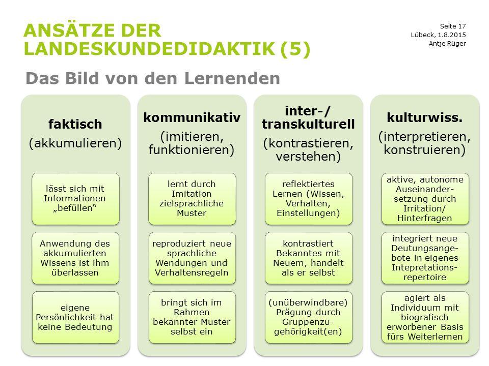 Ansätze der landeskundedidaktik (5)