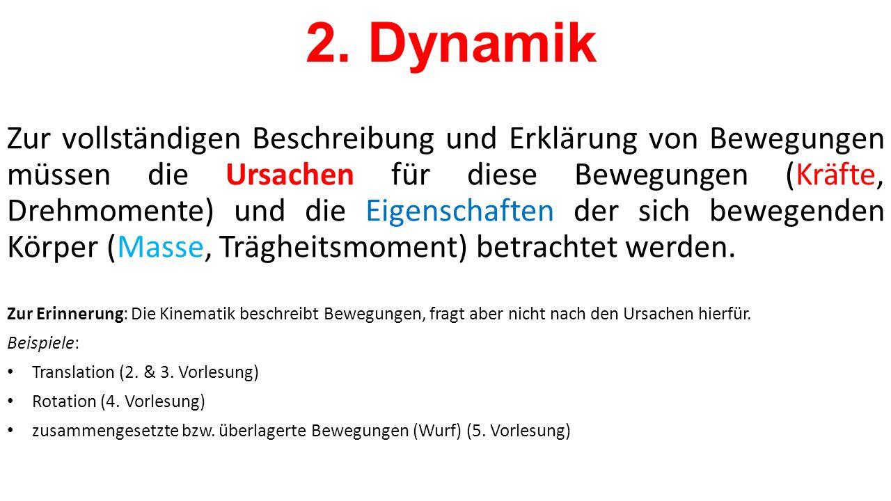 2. Dynamik