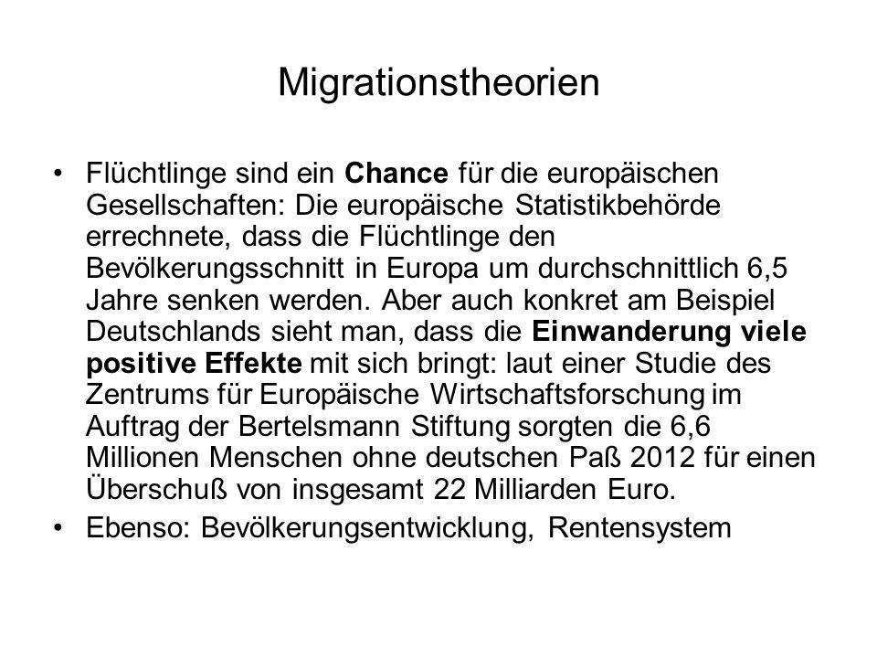 Migrationstheorien