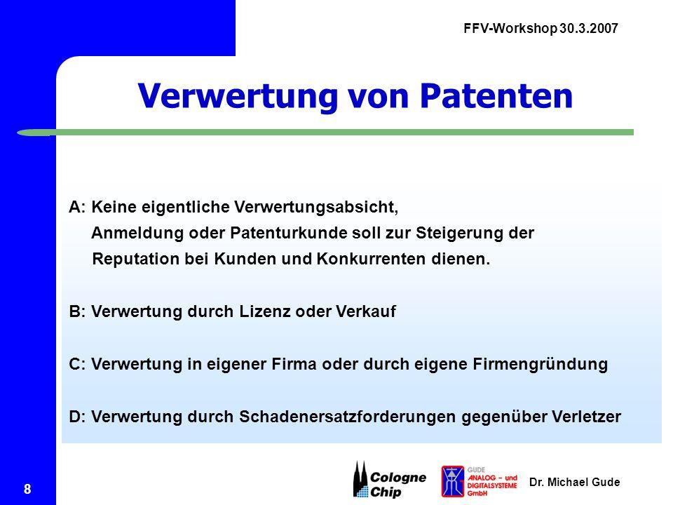 Verwertung von Patenten