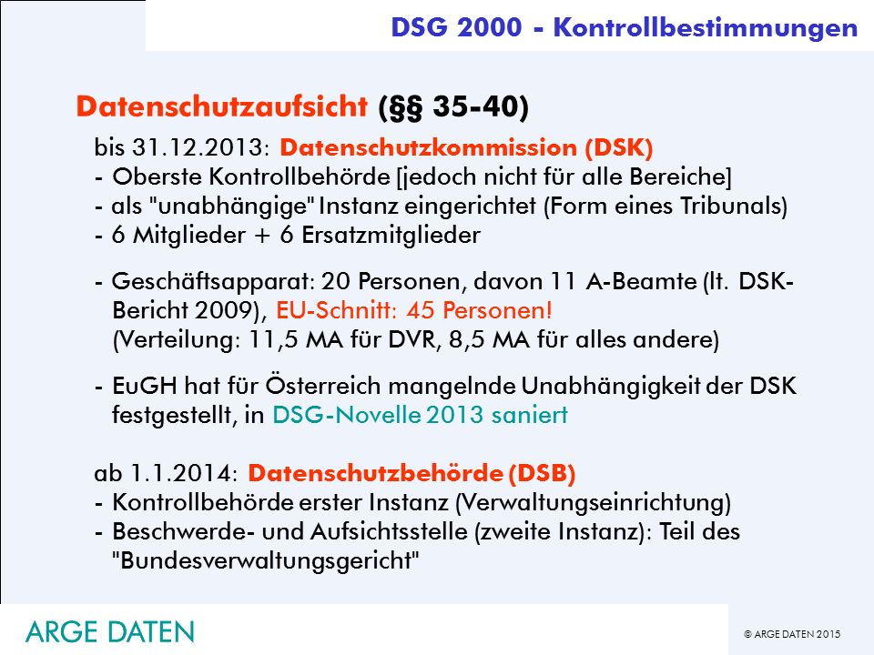 Datenschutzaufsicht (§§ 35-40)