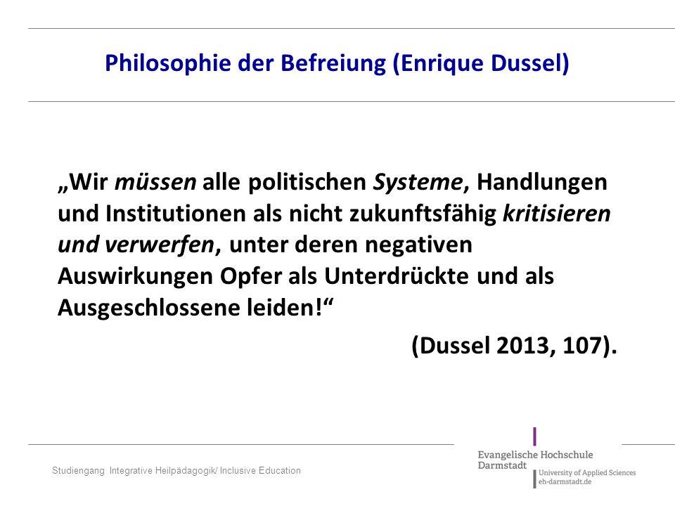 Philosophie der Befreiung (Enrique Dussel)