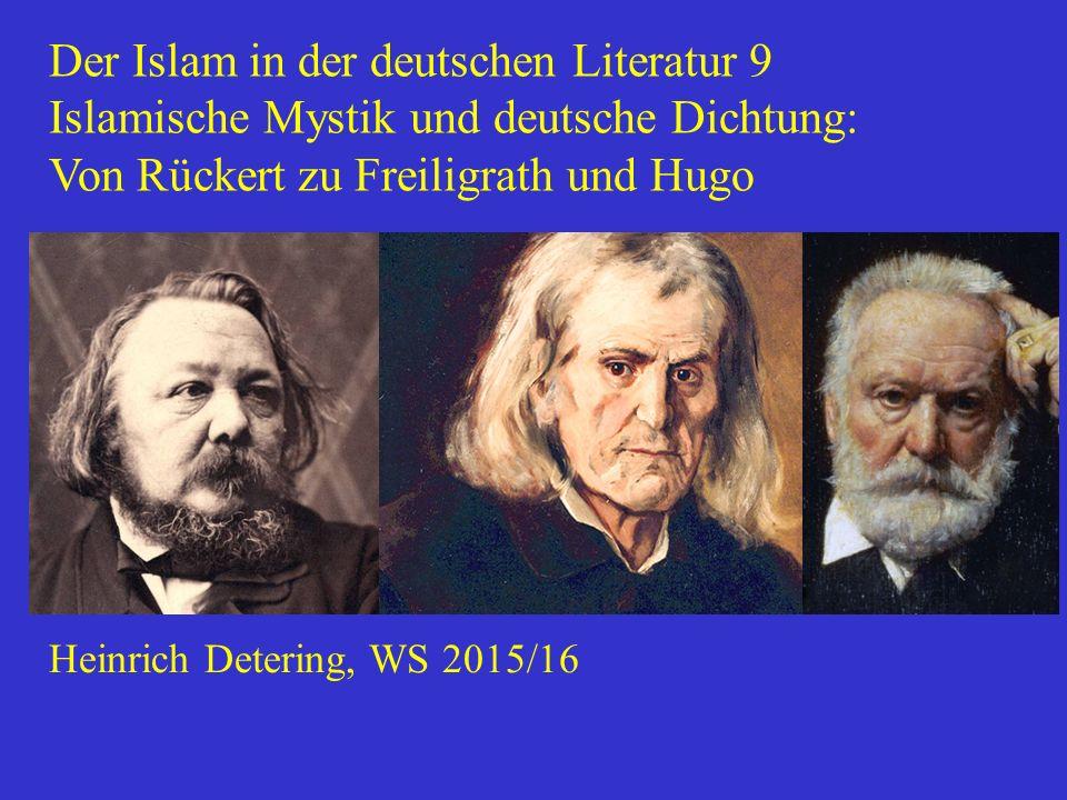 Der Islam in der deutschen Literatur 9