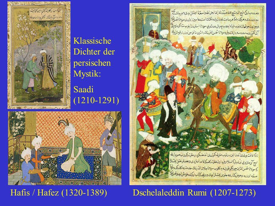 Klassische Dichter der persischen Mystik: