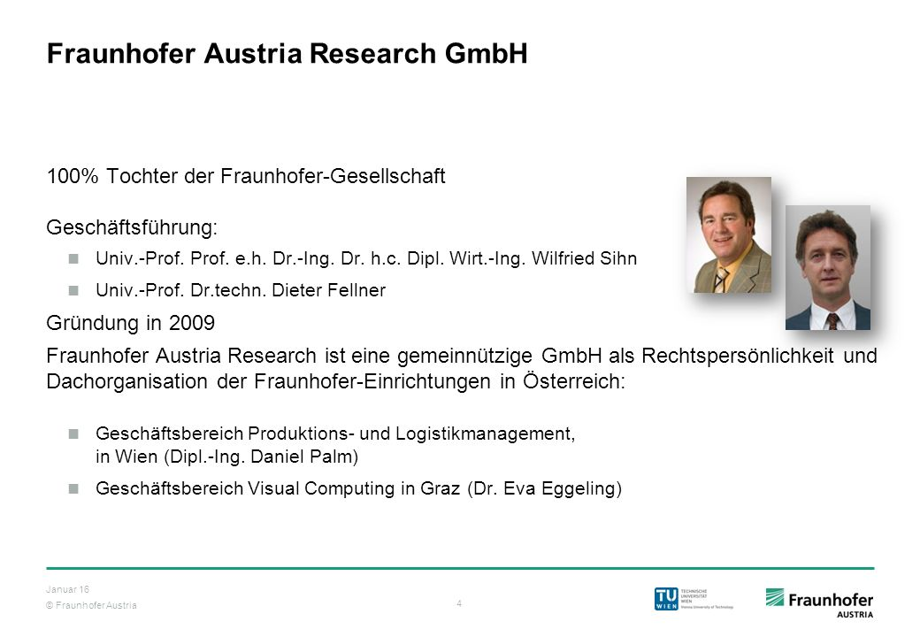 Fraunhofer Austria Research GmbH