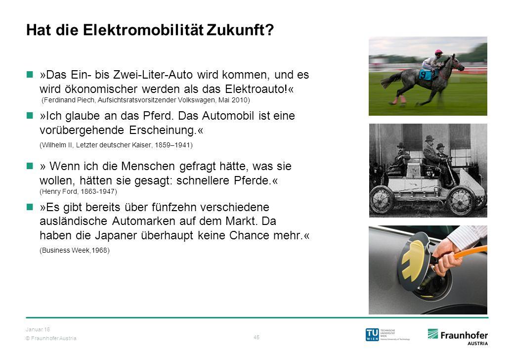 Hat die Elektromobilität Zukunft