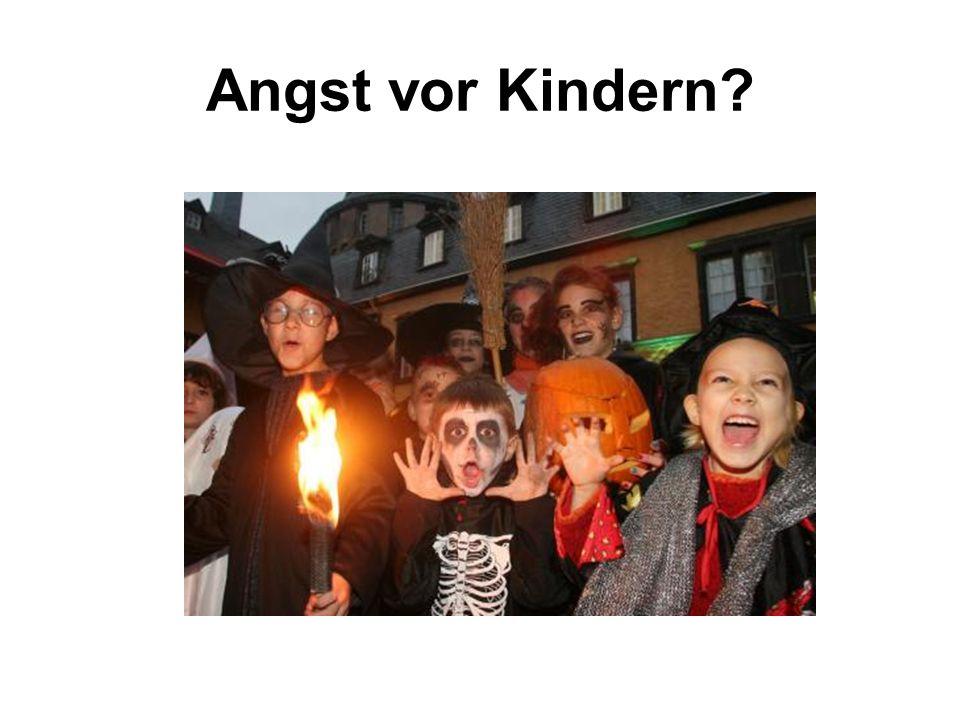 Angst vor Kindern