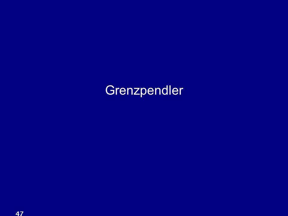 Grenzpendler