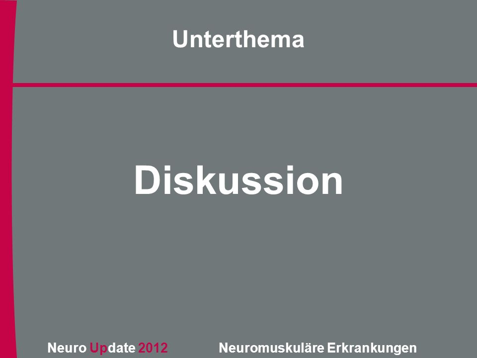 Unterthema Diskussion