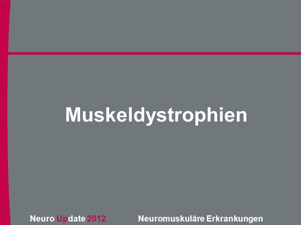 Muskeldystrophien