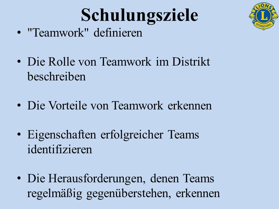 Eigenschaften erfolgreicher Teams