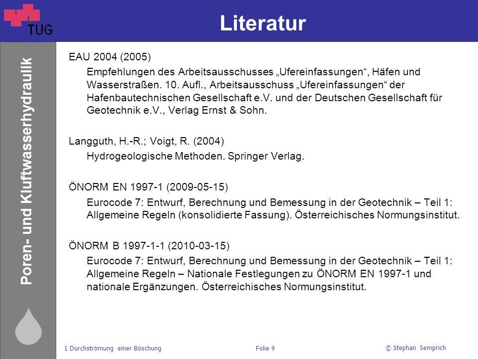 Literatur EAU 2004 (2005)