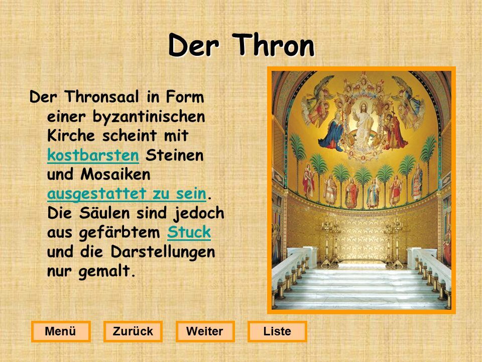 Der Thron