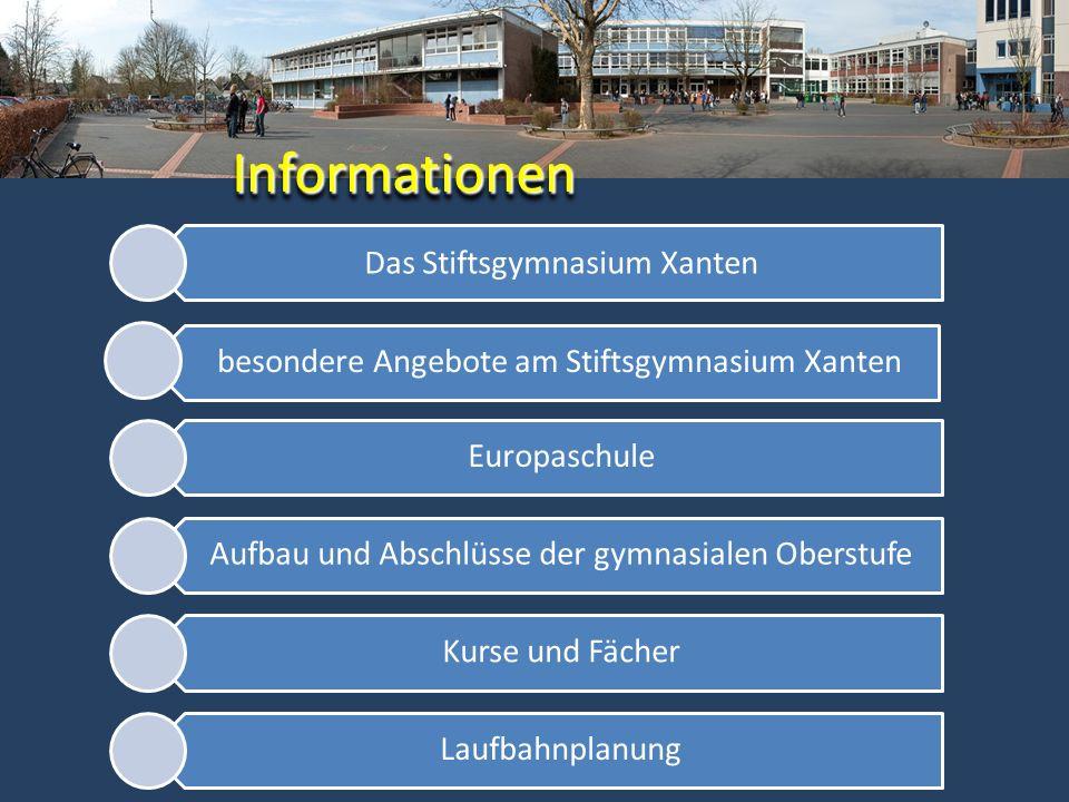 Informationen Das Stiftsgymnasium Xanten