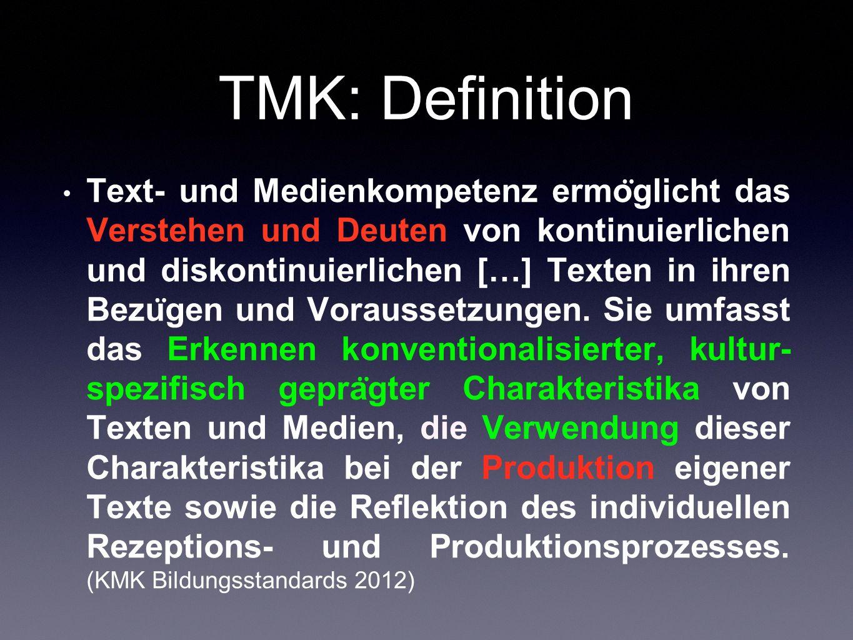 TMK: Definition