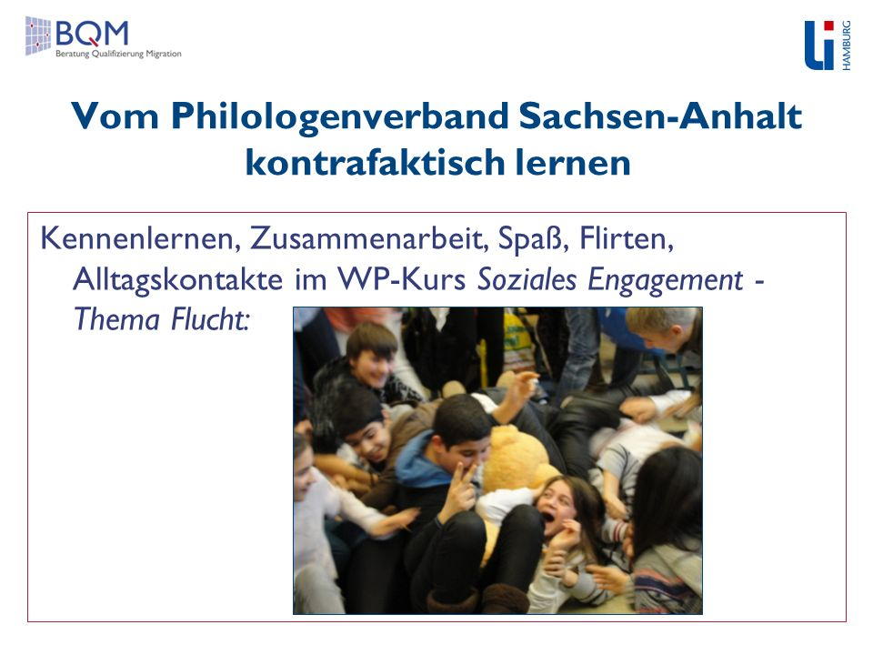 Vom Philologenverband Sachsen-Anhalt kontrafaktisch lernen