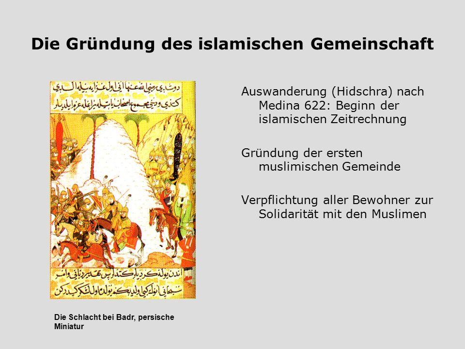 Die Gründung des islamischen Gemeinschaft