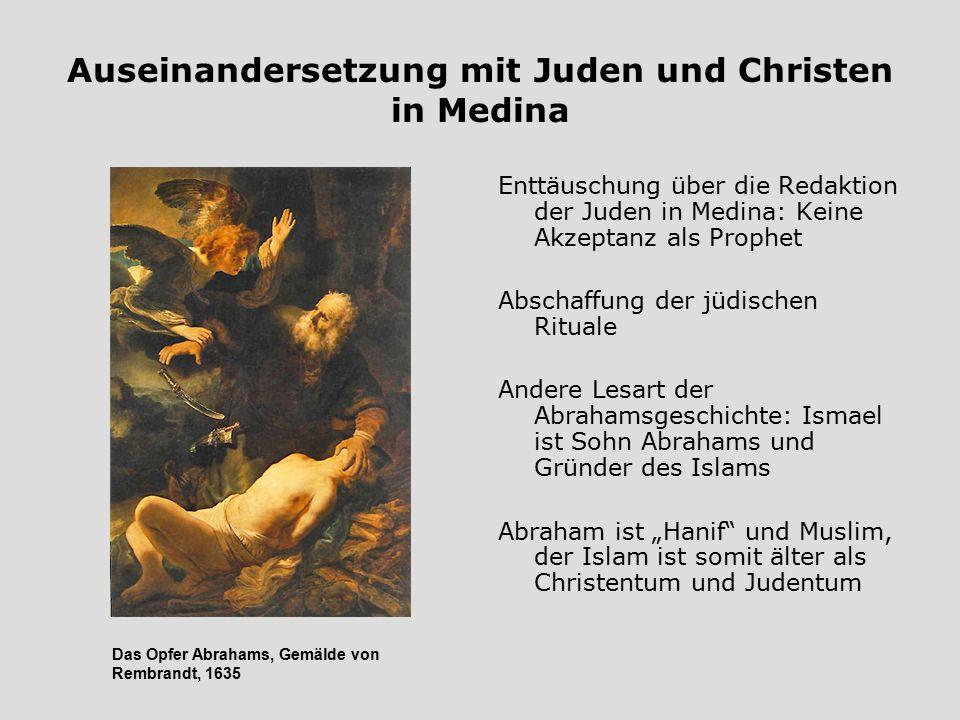Auseinandersetzung mit Juden und Christen in Medina