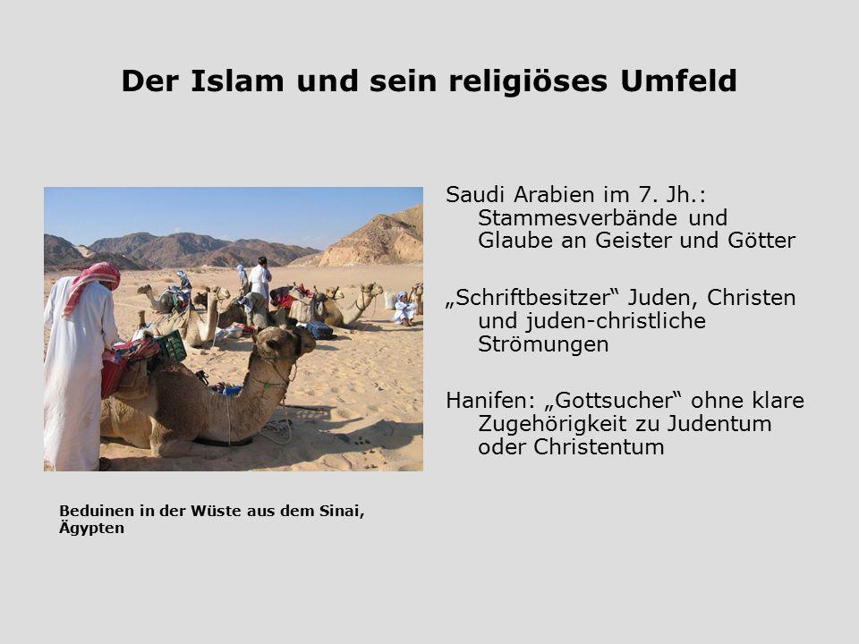 Der Islam und sein religiöses Umfeld