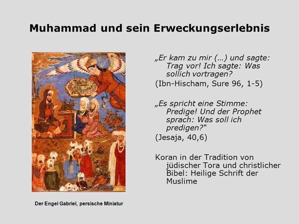 Muhammad und sein Erweckungserlebnis
