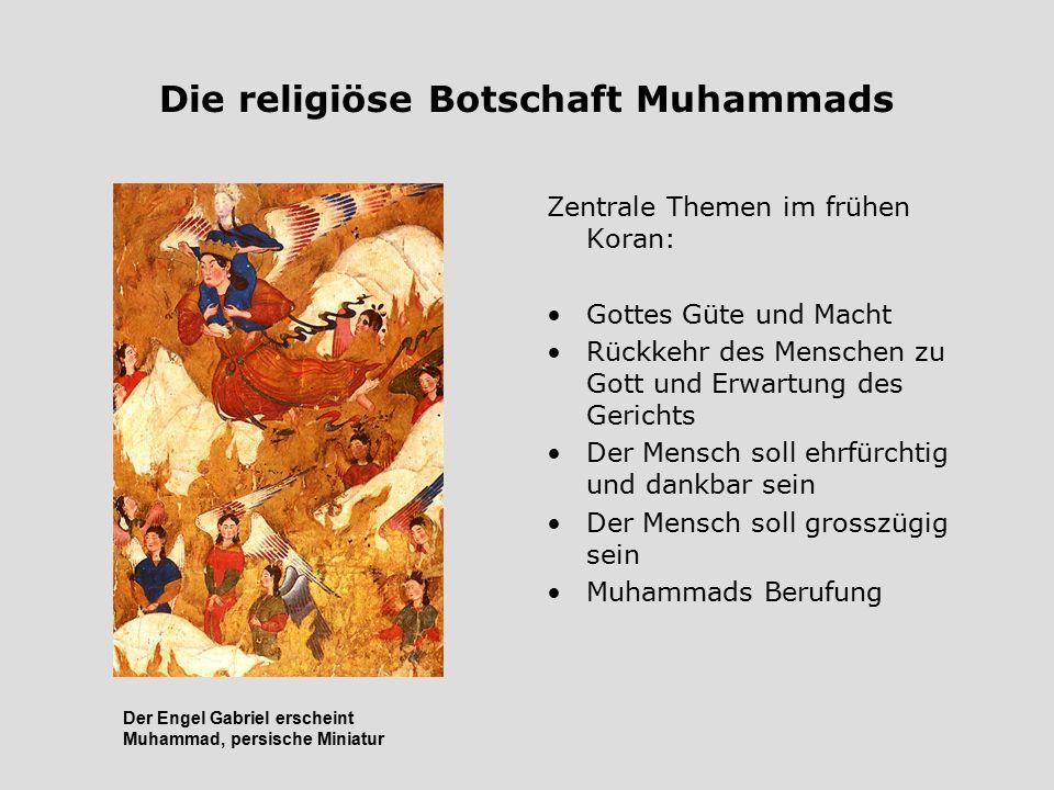 Die religiöse Botschaft Muhammads
