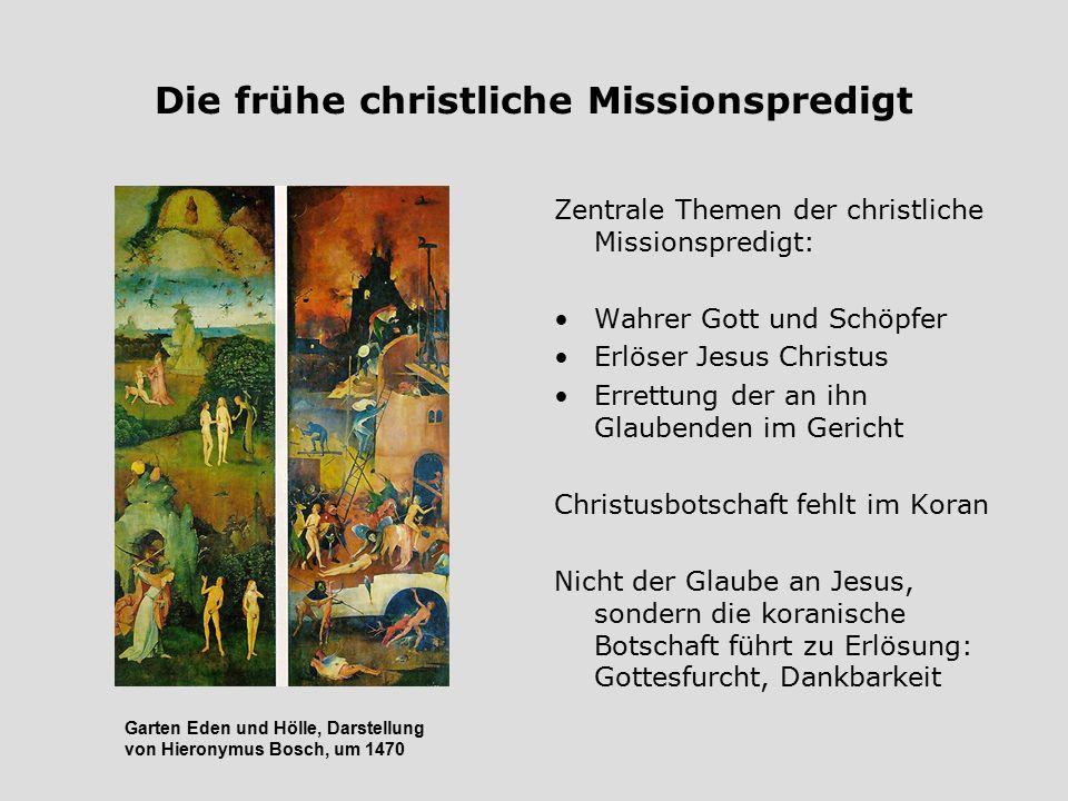 Die frühe christliche Missionspredigt