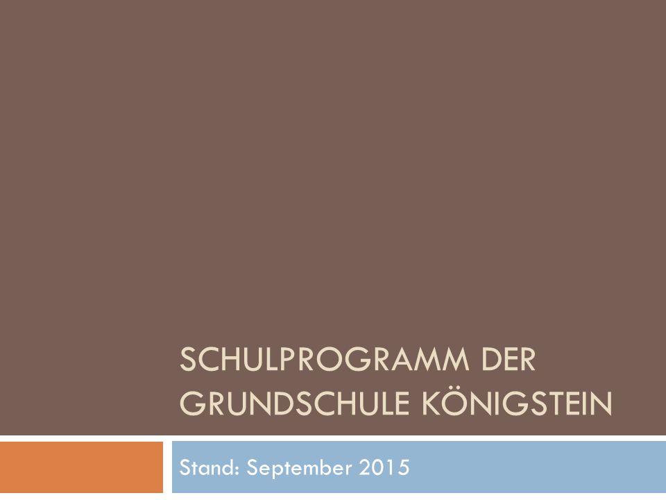 Schulprogramm der Grundschule Königstein