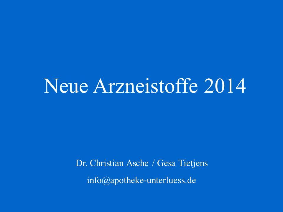 Dr. Christian Asche / Gesa Tietjens