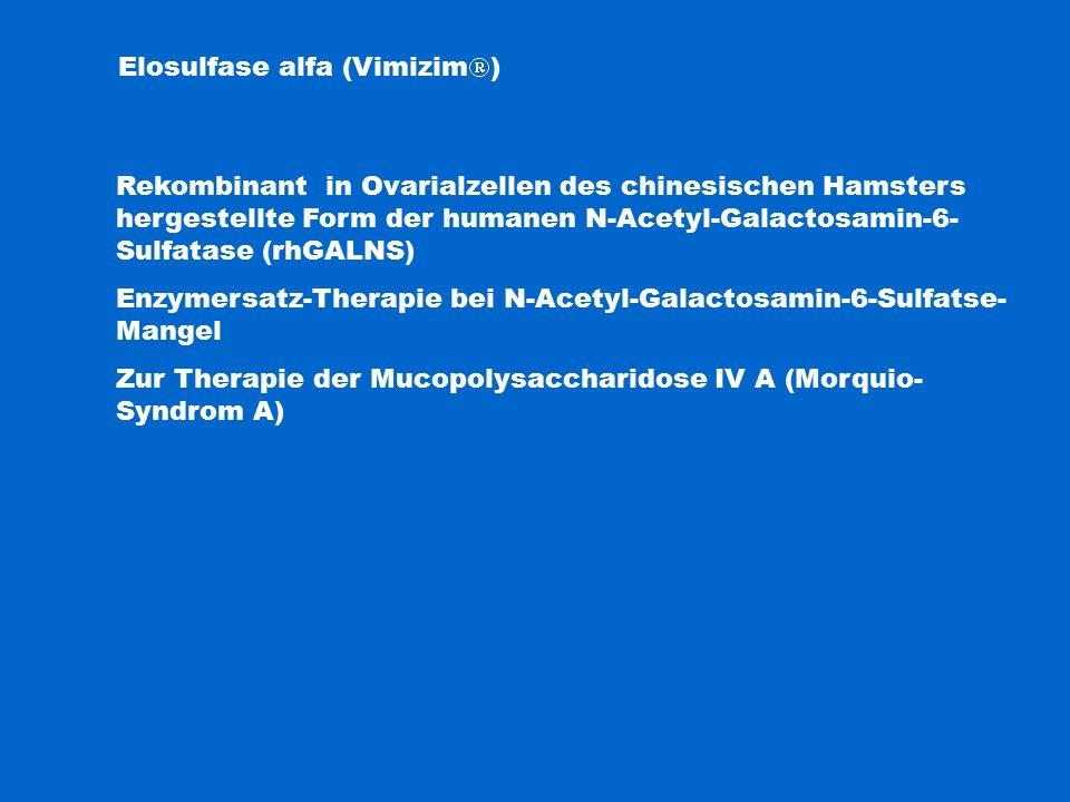 Elosulfase alfa (Vimizim)