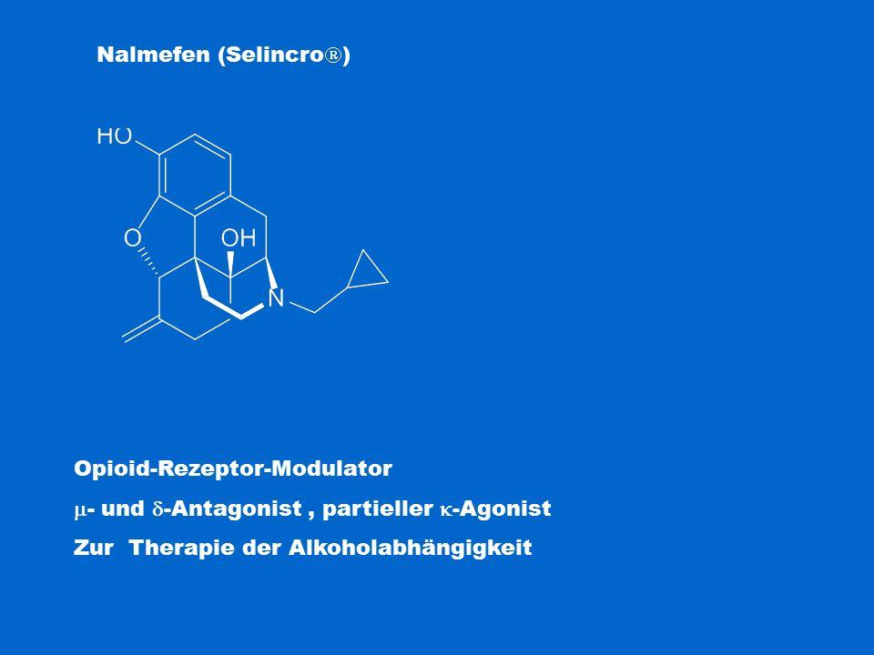 Opioid-Rezeptor-Modulator - und -Antagonist , partieller -Agonist