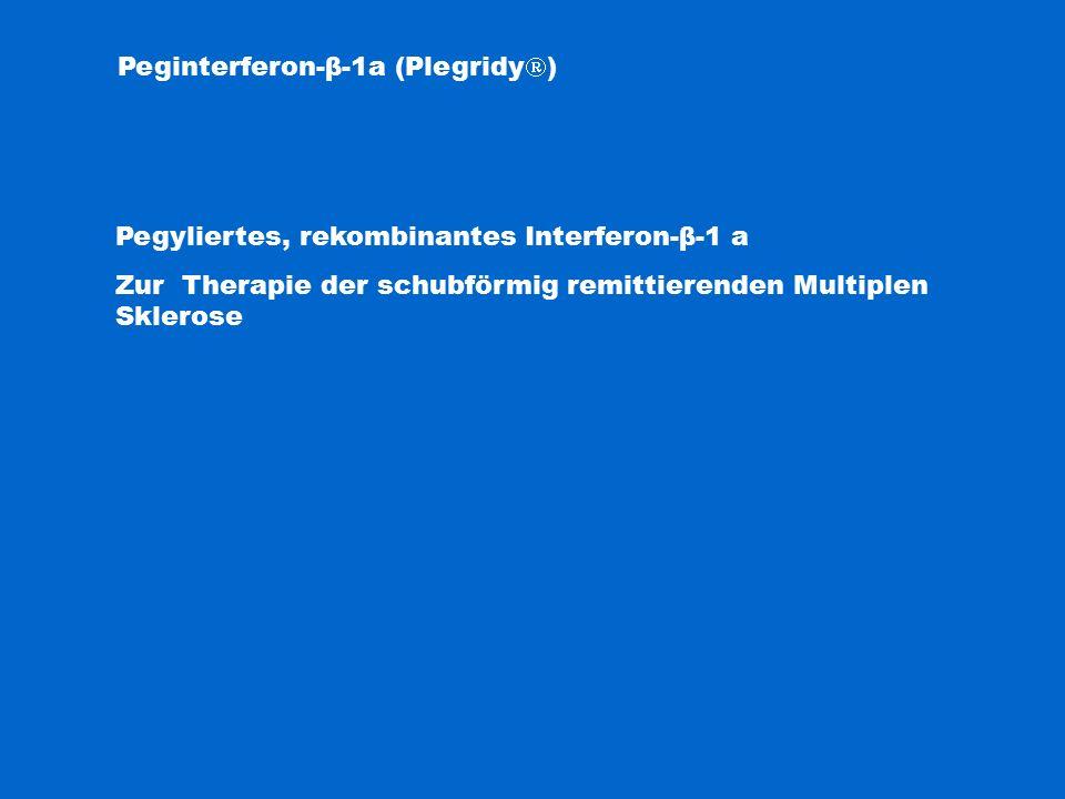 Peginterferon-β-1a (Plegridy)