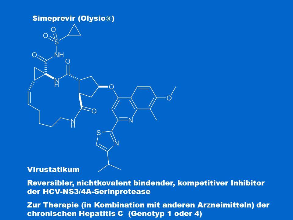 Simeprevir (Olysio) Virustatikum